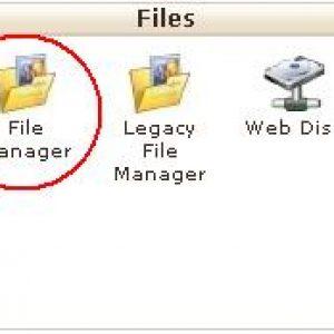 آپلود فایل در سی پنل